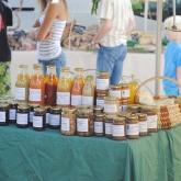 Jour de marché à Saint Pierreville